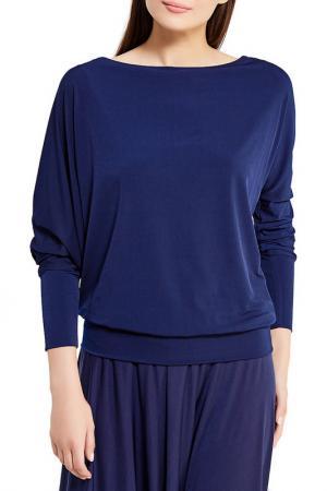 Блузка Alina Assi. Цвет: темно-синий