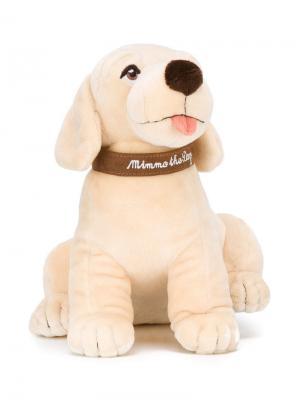 Мягкая игрушка-собака Mimmo Dolce & Gabbana Kids. Цвет: нейтральные цвета