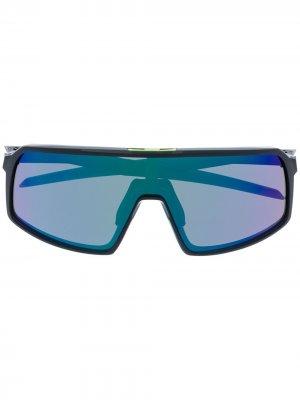 Солнцезащитные очки EVZero Oakley. Цвет: черный