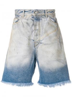 Классические джинсовые шорты Golden Goose Deluxe Brand. Цвет: синий