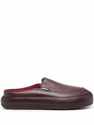 Dreamy slip-on shoes Sunnei. Цвет: красный