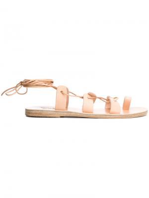 Сандалии Alcyone Ancient Greek Sandals. Цвет: нейтральные цвета