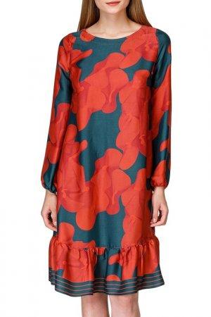 Платье Helmidge. Цвет: красный