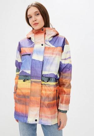 Куртка adidas. Цвет: разноцветный