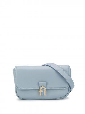 Поясная сумка 1927 Furla. Цвет: синий