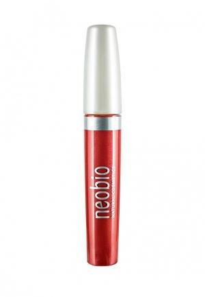 Блеск для губ Neobio. Цвет: красный
