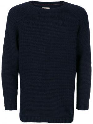 Свитер с круглым вырезом Nudie Jeans Co. Цвет: синий