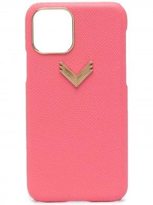 Чехол для iPhone 11 Pro из коллаборации с Velante Manokhi. Цвет: розовый