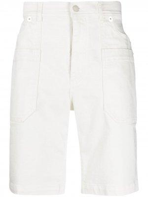 Джинсовые шорты Neil Barrett. Цвет: нейтральные цвета