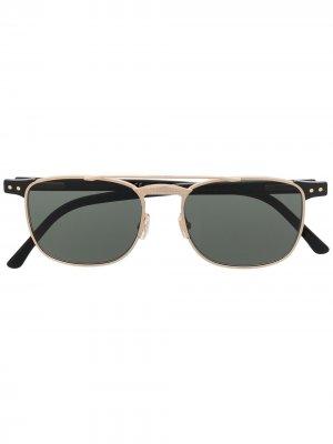 Солнцезащитные очки Alan Jimmy Choo Eyewear. Цвет: черный