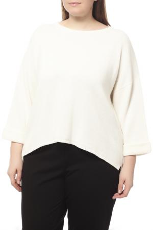Пуловер Peserico. Цвет: белый