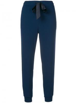 Зауженные спортивные брюки Aniye By. Цвет: синий