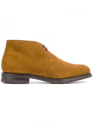 Ботинки дезерты Church's. Цвет: коричневый