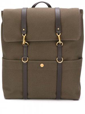 Рюкзак с застежками лобстер Mismo. Цвет: коричневый