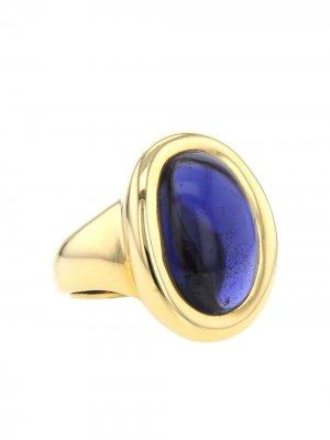Кольцо Baignoire 1990-х годов из желтого золота pre-owned Cartier. Цвет: золотистый,purple