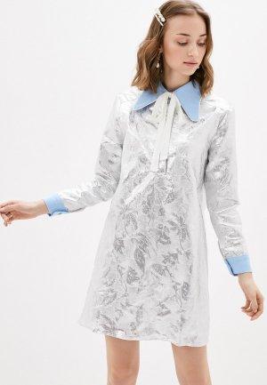 Платье Sister Jane. Цвет: серебряный