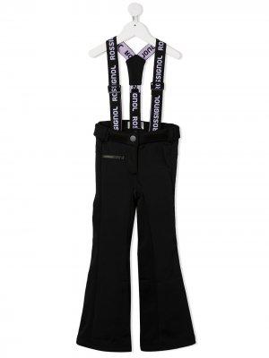 Лыжные брюки Rossignol Kids. Цвет: черный