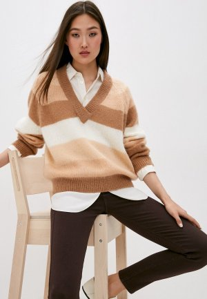 Пуловер Trussardi Jeans. Цвет: коричневый