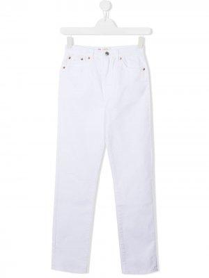Levis Kids джинсы кроя слим Levi's. Цвет: белый