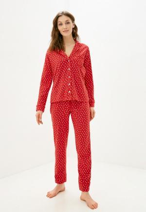 Пижама womensecret women'secret. Цвет: красный