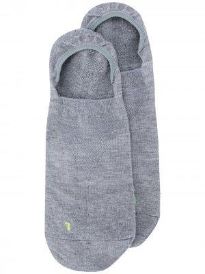Невидимые носки Cool Kick Falke. Цвет: серый