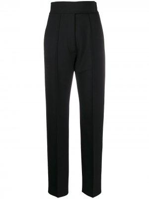 Зауженные брюки с завышенной талией Pringle of Scotland. Цвет: черный