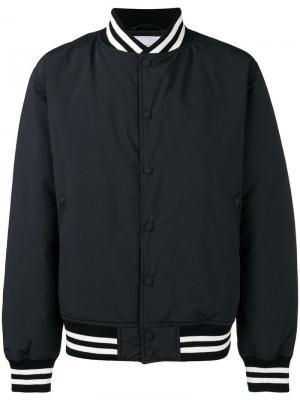 Bomber jacket Nanamica. Цвет: черный
