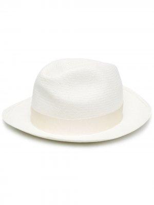 Шляпа Panama Borsalino. Цвет: белый