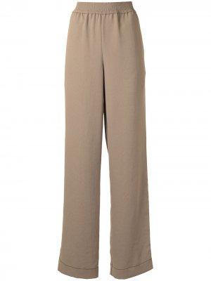 Пижамные брюки Proenza Schouler White Label. Цвет: зеленый