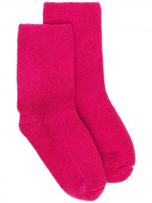 Носки до середины голени Baserange. Цвет: розовый